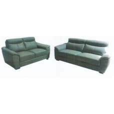 Alexia 2+2.5 Seater Leather Lounge