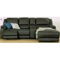 Silverton 2 Recliners With Chaise