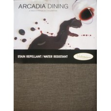 Arcadia Dining Tablecloth 180 cm Square - Earth