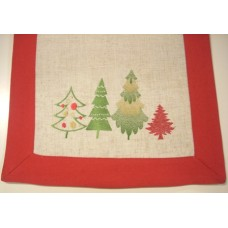 Mini Christmas Trees Table Topper 100 x 100 cm