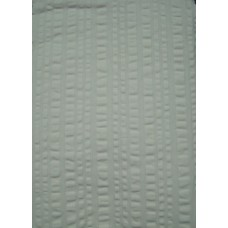 Plain Seersucker Tablecloth - Cream - 145 x 145 Square
