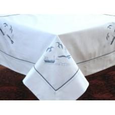 Riviera Tablecloth 135 x 180 - Victoria Linen Australia