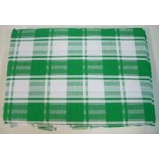 Seersucker Check Tablecloth - Rectangle - 145 x 185 - Green