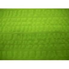 Plain Seersucker Tablecloth - Green - 145 x 185 Rectangle