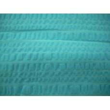 Plain Seersucker Tablecloth - 145 x 270 - Blue