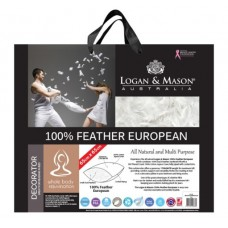 100% Feather European Pillow