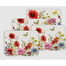 Poppy Garden - Set of 4 Placemats