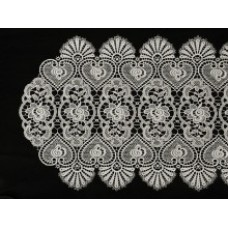 Rosalie White Lace Table Runner 40 x 140 cm