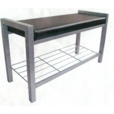 Hot Shoe Rack- Silver/Black