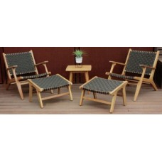 Bali Relax Chair and Foot Stool