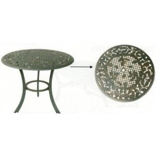 Cast Iron Table - Large- Leaves