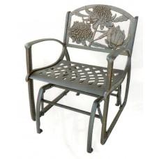 Cast Iron Glider Chair - Waratah