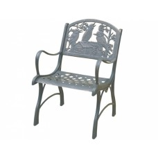 Cast Iron Chair - Kookaburra