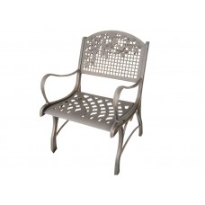 Cast Iron Chair - leaves