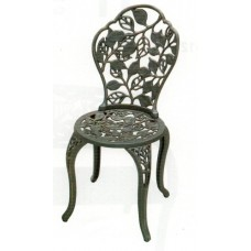 Cast Iron Garden Chair - Leaves