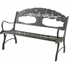 Cast Iron Park Bench - Tree