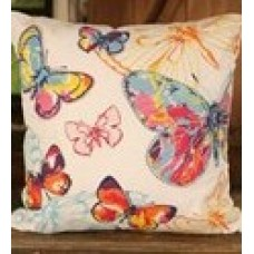 All Over Butterfly Cushion - Settler Bear - Noosa Collection