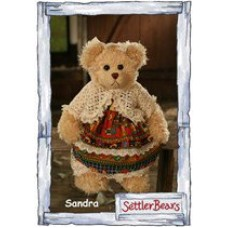 Sandra - Settler Bear - Gippsland Collection