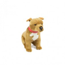 Pax the Brown Staffy - A Bocchetta Plush Toy Dog