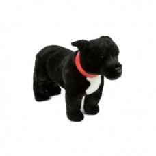 Spike the Black Staffy - A Bocchetta Plush Toy Dog