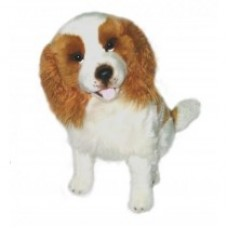 Lilly the King Charles Dog - a Bocchetta Plush Toy Dog