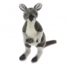 Tracy The Kangaroo with Joey - A Quality Bocchetta Plush Toy