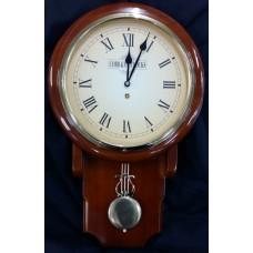 Medium Pendulum Railway Clock- Cobb & Co Clocks