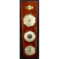 Large 3 In 1 Barometer - Cobb & Co Clocks