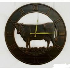 Cow Outdoor Clock