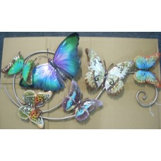 Butterfly Swirl Plaque