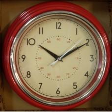 Classic Clock Red