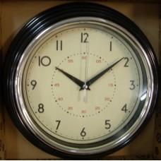 Classic Clock Black