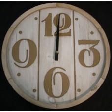 Scandi Panel Wall Clock