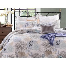 Floral Bloom Quilted Coverlet Set