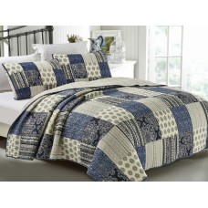 Horizon Quilted Coverlet Set