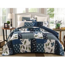 Mulberry Quilted Coverlet Set
