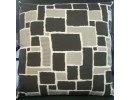 Black Checked Cushion