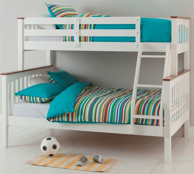 The Sarah Bunk Bed Comes With A Single On Top And Double