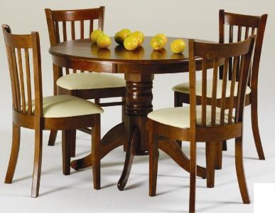 dining suite the lismore 5 piece dining suite has a fixed round table